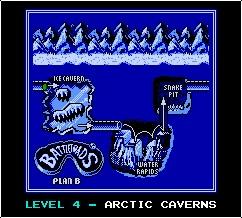 Arctic Caverns logo