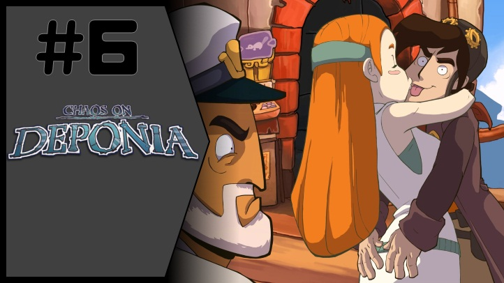 Chaos on Deponia fon