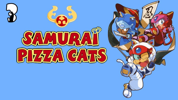 Samurai Pizza Cats fon