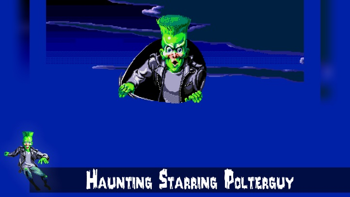 Haunting Starring Polterguy fon