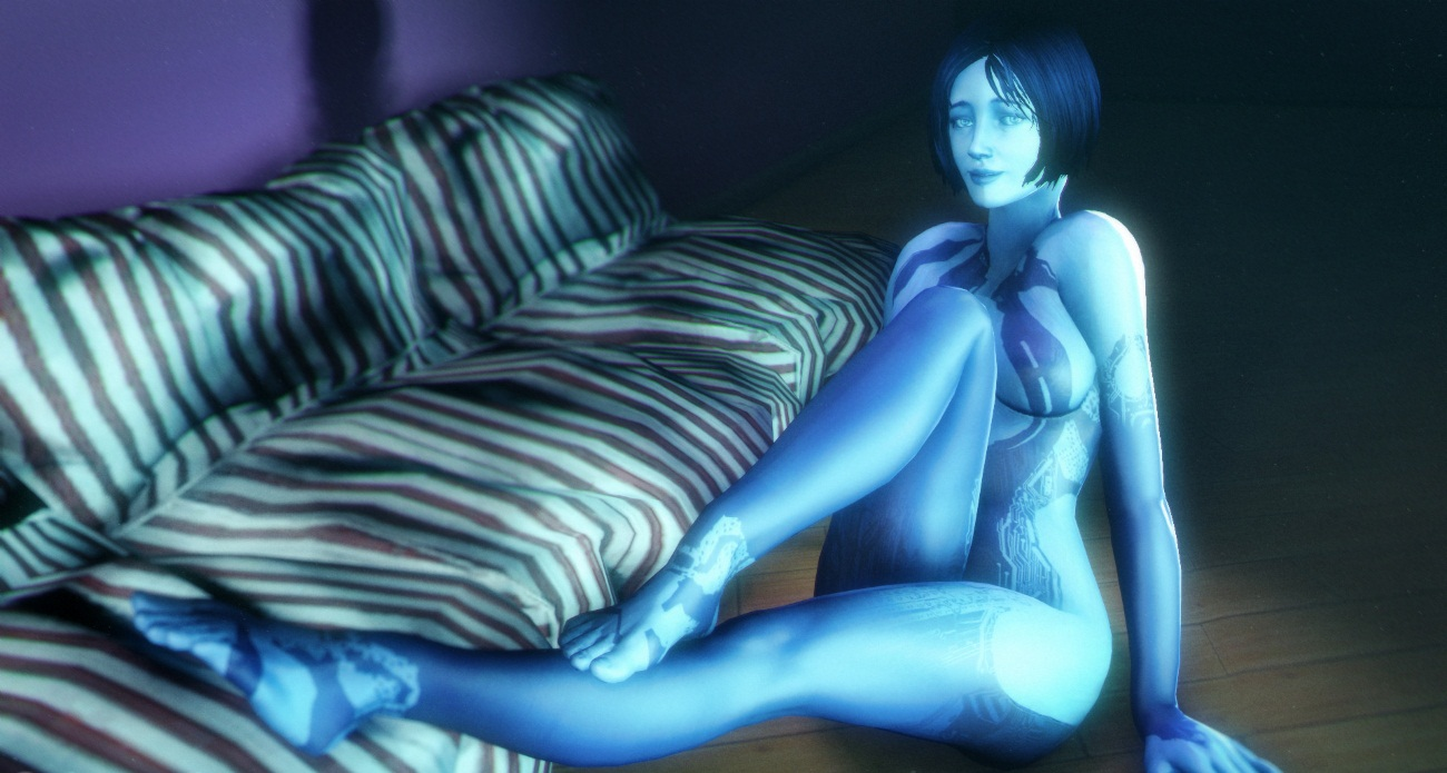 Cortana nu naked galleries
