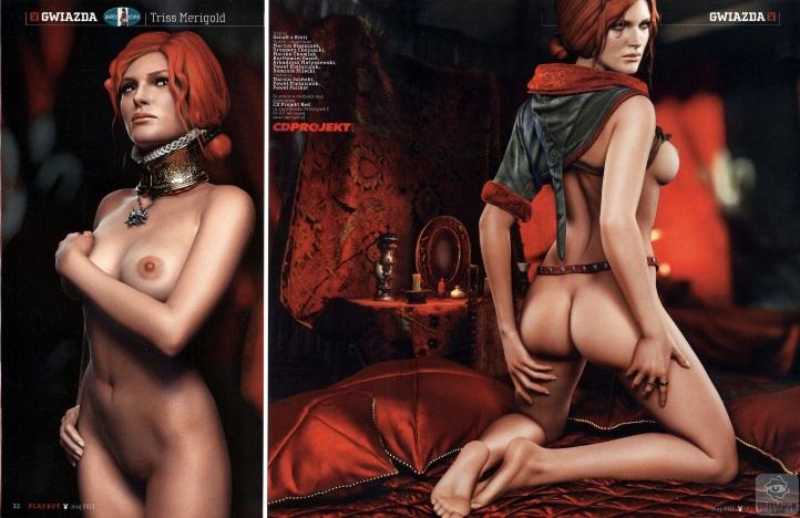 Triss Merigold Playboy mini 10