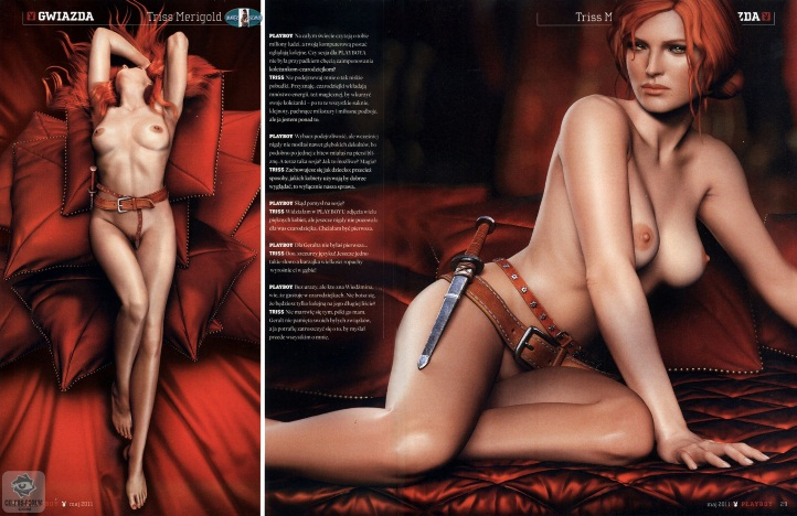 Triss Merigold Playboy mini 12