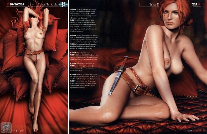 Triss Merigold Playboy mini 12