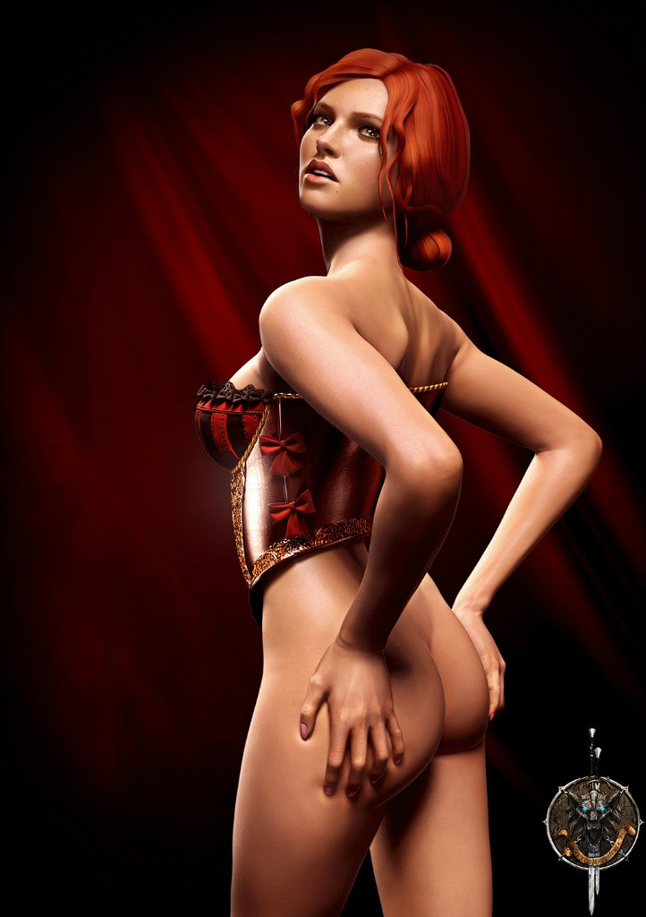 Triss Merigold Playboy mini 2