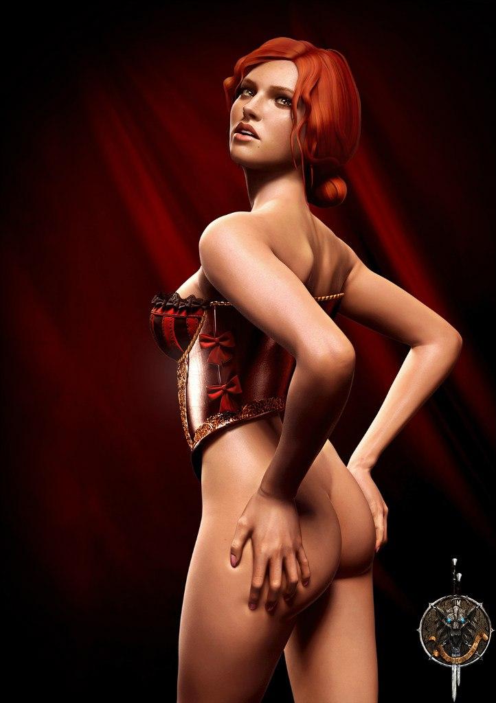 Triss Merigold Playboy mini 2