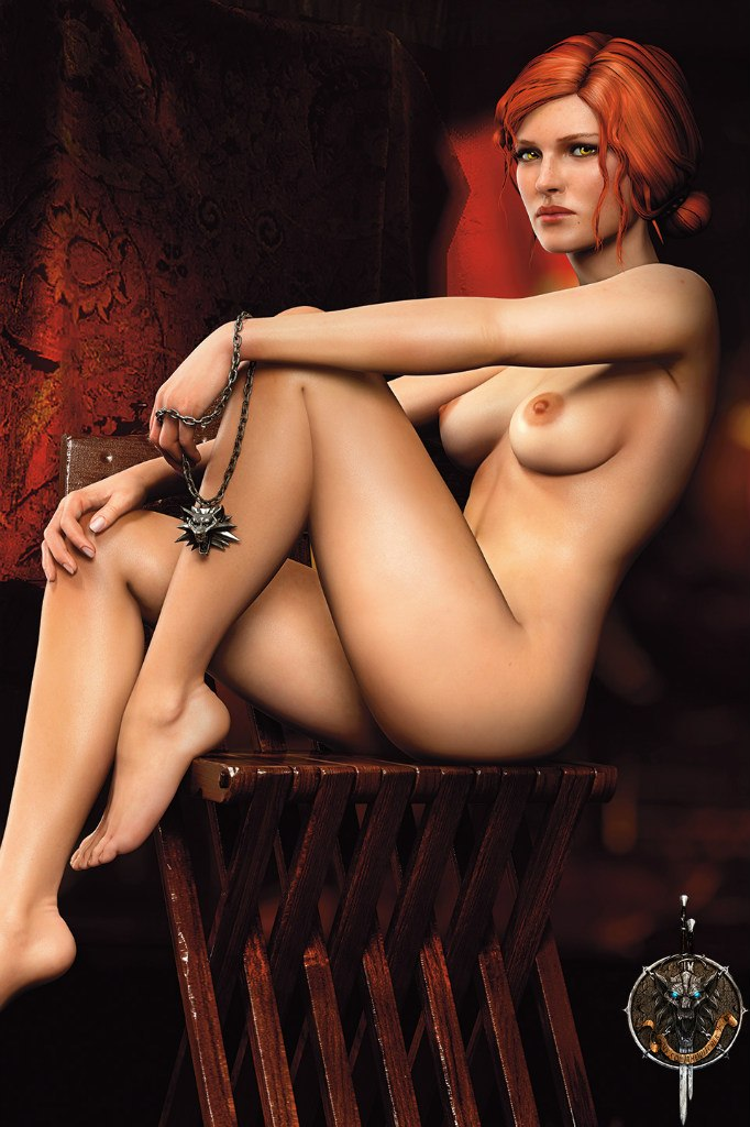 Triss Merigold Playboy mini 3