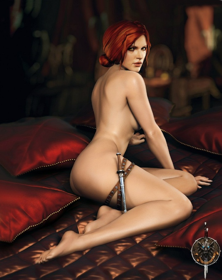 Triss Merigold Playboy mini 6