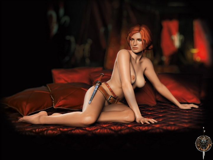 Triss Merigold Playboy mini 7