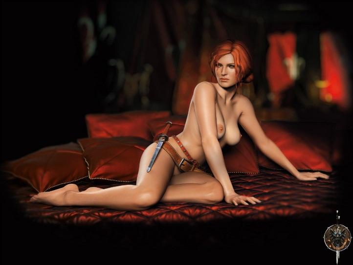 Triss Merigold Playboy mini 7