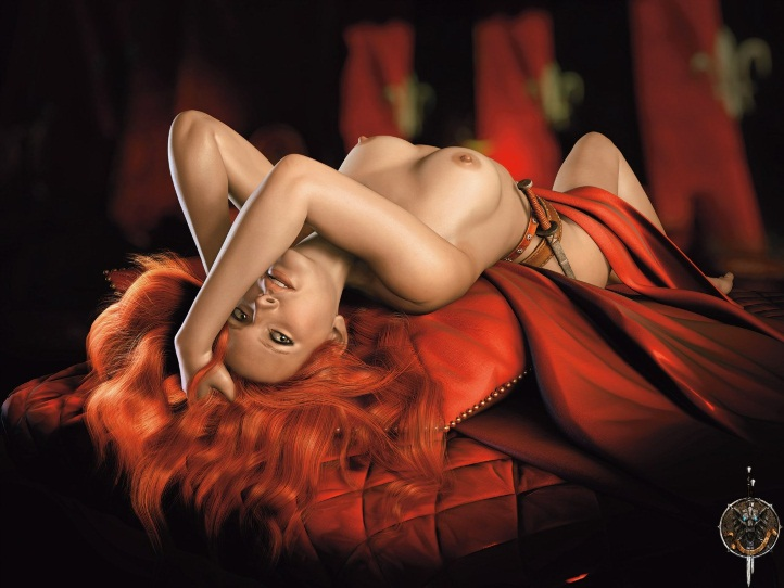 Triss Merigold Playboy mini 8