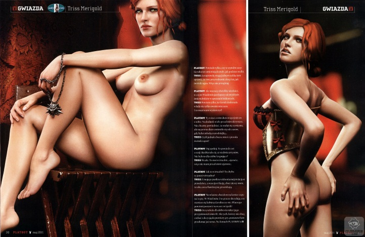 Triss Merigold Playboy mini 9