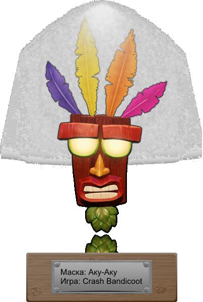 Mask Aku Aku fon