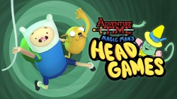 Adventure Time Magic Man Head Games fon