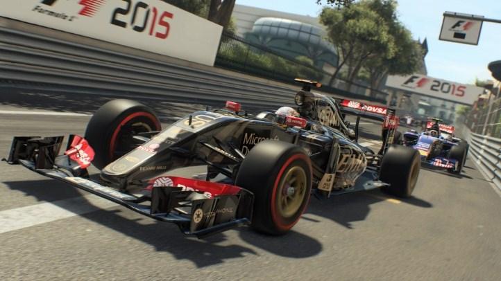 Новый трейлер к игре F1 2015