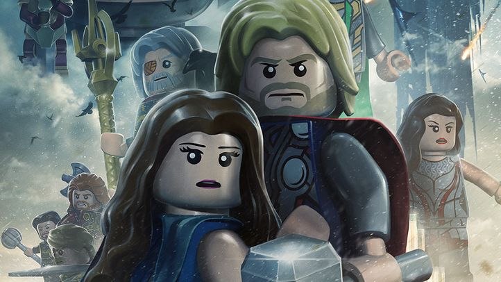 LEGO marvel super heroes 8