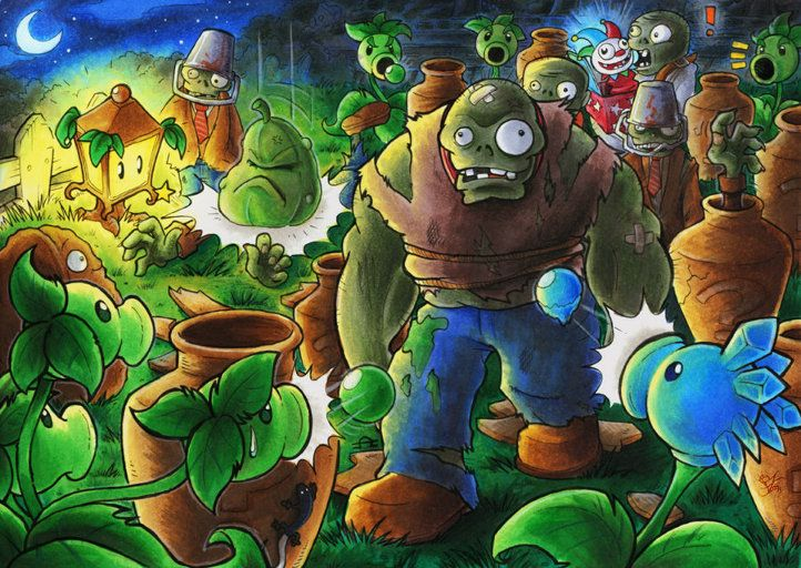 Plants vs Zombies 2-1