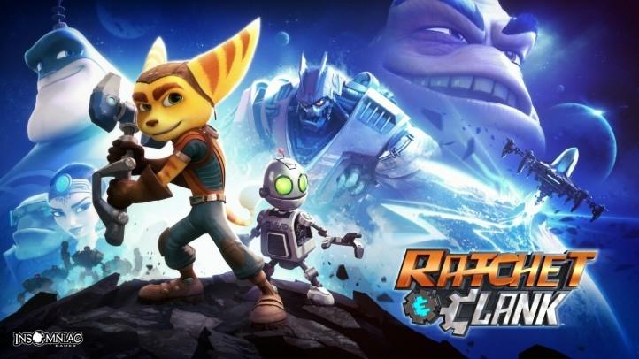 Ratchet & Clank Первое видео с геймплеем