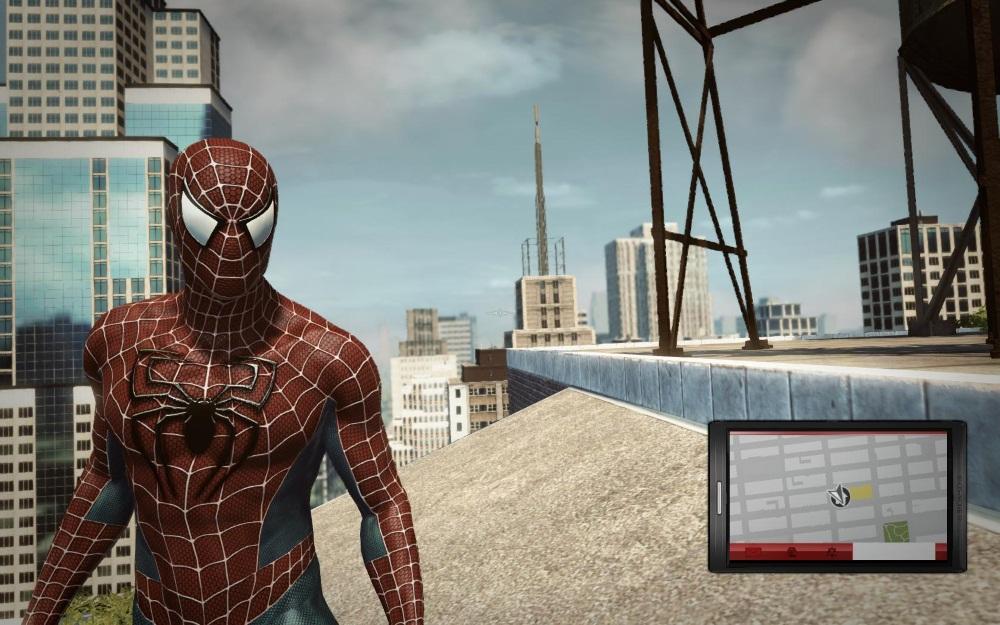 скачать игру The Amazing Spider Man со всеми костюмами - фото 10