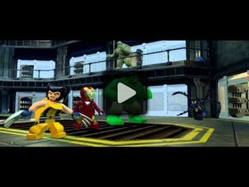 LEGO marvel super heroes video 6