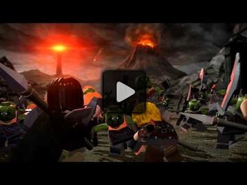 LEGO the lord of the rings video 2