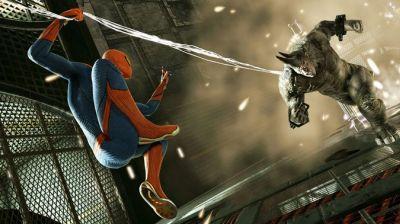 The amazing spider man logo