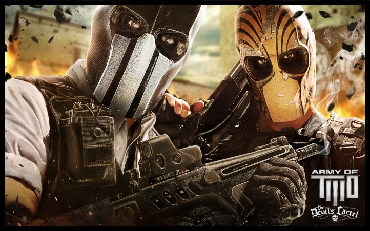 Army of Two: The Devil's Cartel командная игра
